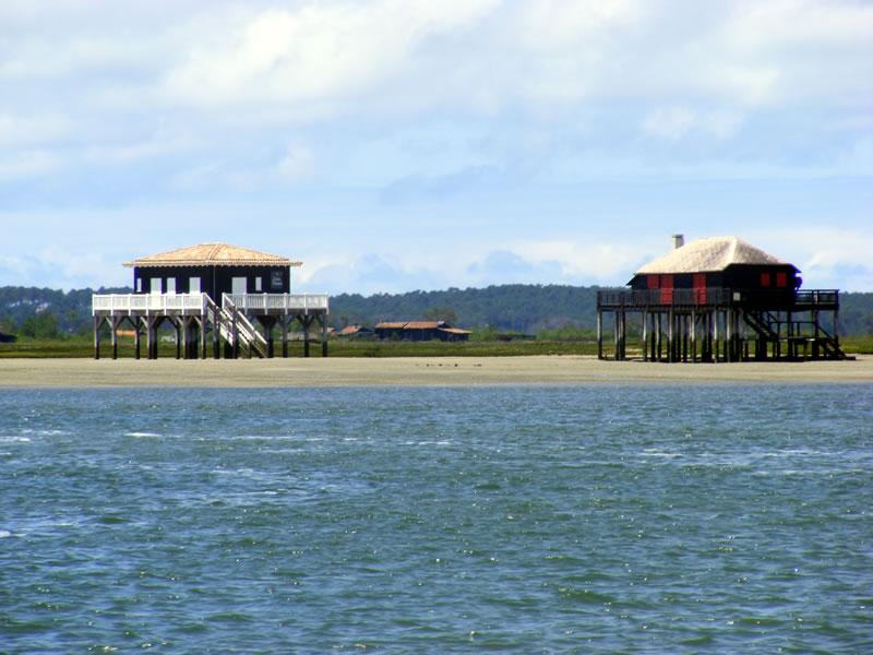 Les cabanes tchanquées - Bassin d'Arcachon