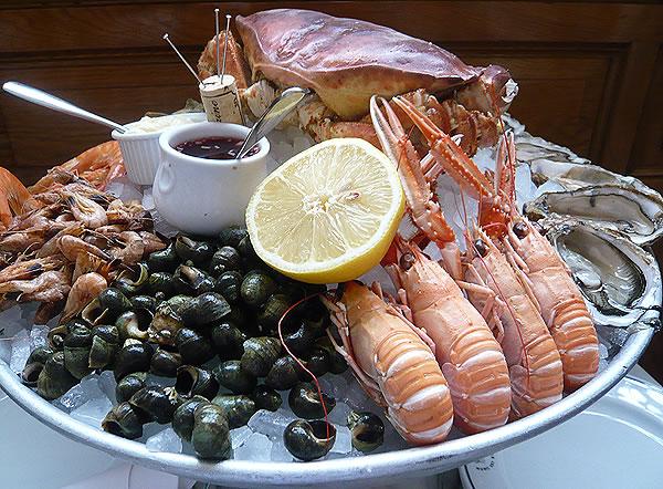 Plateu de fruits de mer