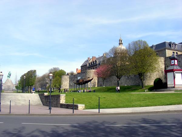 Boulogne s/mer - ville fortifiée