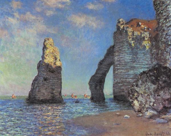 Étretat - C. Monet
