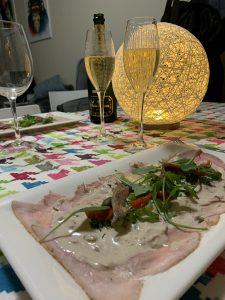 Vitello Tonato en champagne